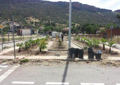 Βελτίωση Πρασίνου σε Πάρκο Κυκλοφοριακής Αγωγής στην Άμφισσα